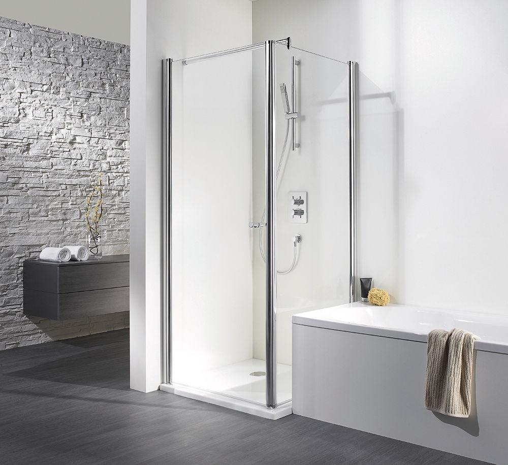 grenzt die badewanne direkt an die duschabtrennung kommt es h ufig zu problemen bei der pflege. Black Bedroom Furniture Sets. Home Design Ideas